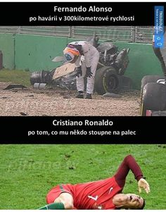 Cool Pictures, Funny Pictures, F1 2017, Car Crash, Gaming Memes, Cristiano Ronaldo, Insta Like, Outdoor Power Equipment, Funny Memes
