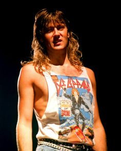 Joe Elliot of Def Leppard....love him!