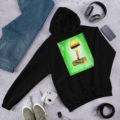 A Christmas Story Leg Lamp Hooded Sweatshirt Christmas Story Leg Lamp, Rib Knit, Hooded Sweatshirts, Hoods, Athletic, Legs, Stylish, Cotton, Products