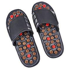 Massage Slippers Reflexology Sandals Foot Massage for Men (6-8)/ Women (8-10)