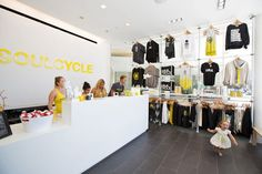 SoulCycle's Bright and Beautiful Studio Opens in Beverly Hills.