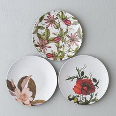 Blooming Magnolia Melamine Plate in Entertaining DINING + SERVING Dinnerware at Terrain