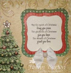 The Spirit of Christmas  Sentiment Image from Paper Makeup