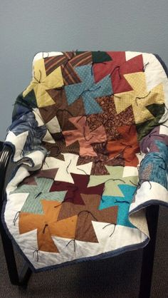 Tied Twister Quilt