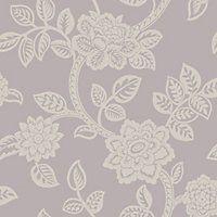 Arthouse Jacobean Wallpaper - Lilac