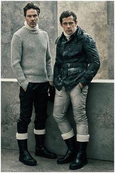 Belstaff Fall Winter 2015 Menswear Collection is Moto Chic - Otoño Invierno #Menswear #Trends #Tendencias #Moda Hombre