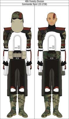 Commander Nynir (CC-2158) by QuillSpirit15971