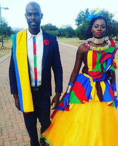 Ndebele Wedding attire design South African Dresses, South African Traditional Dresses, Traditional Wedding Dresses, Traditional Outfits, Traditional Weddings, African Wedding Attire, African Attire, African Wear, African Weddings