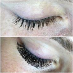 Before and after volume lashes #lashes #lash #lashartist #eyelashextensions #volumelashes #beauty #eyelashes