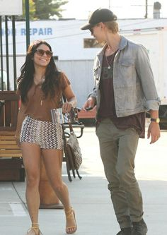 Vanessa Hudgens and Austin Butler: gosh, I love their style!