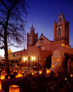 The beautiful San Felipe de Neri church is the third oldest Hispanic church in New Mexico, and the oldest building in Albuquerque Rio Grande, Albuquerque Old Town, Duke City, New Mexico Style, Hispanic Culture, Santa Fe Style, Mexico Art, New Mexican, Land Of Enchantment