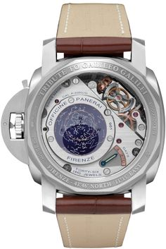 L'ASTRONOMO - Luminor 1950 Tourbillon Equation of Time Oro Bianco - 50mm PAM36502 - Collection Luminor 1950 - Officine Panerai Watches