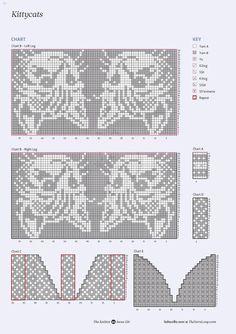 Bilder på veggen til felleskapet | VK Knitted Mittens Pattern, Intarsia Knitting, Fair Isle Knitting Patterns, Knit Mittens, Knitting Charts, Loom Knitting, Knitting Stitches, Free Knitting, Knitting Socks