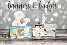 Banners & Badges bundle, sweet treats and cards ~ by Joyce Fowler