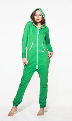 An adult onesie! How have I lived this long without one? | Kelly Green - OnePiece – Jump In
