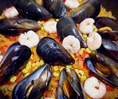 ムール貝をいただいたので、在り合わせの食材で作ってみました(^^) - 24件のもぐもぐ - パエリア by ponchan86