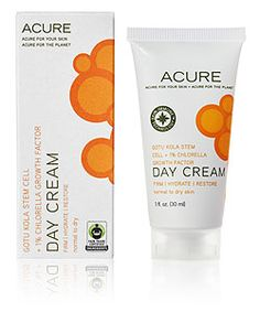Acure Organics- This is a lovely, effective, and reasonable priced line. And the great thing is that a lot of local Whole Foods are starting to carry the line as well.
