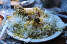 Avadhi Chicken Biryani.. Who can say no to such mouth watering delicacies from Calcutta (Arsalaan, Kolkata)