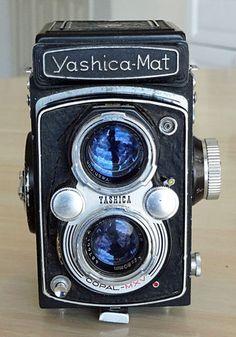 Vintage Yashica Mat Twin Lens Reflex 120 Film Medium Format Camera 1957 | eBay