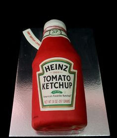 ketchup cake | by The House of Cakes Dubai