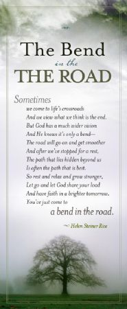 DavidJeremiah.org - The Bend in the Road Bookmark