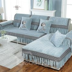 Gross Weight/Package: ( kg )DetailsMaterial:Polyester Product category:Sofa piece * Master Bedroom Wardrobe Designs, Ruffles, Home Office Decor, Home Decor, Couch Covers, Furniture Covers, Corner Sofa, Cushions On Sofa, Bed Spreads