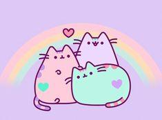 Pusheen 🌸 uploaded by Rikki エリカ on We Heart It Gato Pusheen, Pusheen Love, Pusheen Stuff, Wallpapers Kawaii, Kawaii Wallpaper, Iphone Wallpapers, Nyan Cat, Kawaii Drawings, Cute Drawings