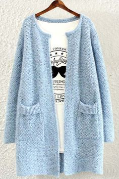We absolutely love this soft cardigan for a classy chic look!