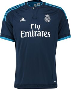 892c9eb61 The Adidas Real Madrid 2015-16 Third Shirt features a classic design with  two tones