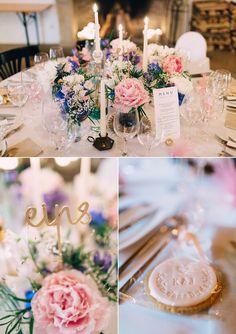 Daniela Reske Fotografie. Dekoration, Blumen und Papeterie: Anmut und Sinn