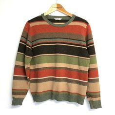 David Nieper Striped Lambswool Jumper UK Size 18 20  #DavidNieper #Pullover #Casual Jumper, Men Sweater, Cosy, Knits, Online Price, 18th, David, Pullover, Best Deals