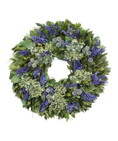 Another great find on #zulily! 22'' Somerset Manor Wreath by Floral Treasure #zulilyfinds
