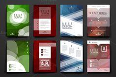 Set of brilliant templates ~ Brochure Templates on Creative Market