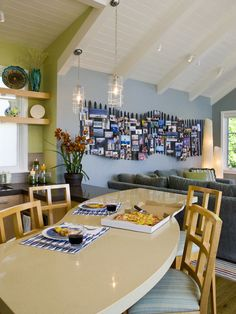 Beach Cottage Interiors Design, Pictures, Remodel, Decor and Ideas - page 15  picket-ures