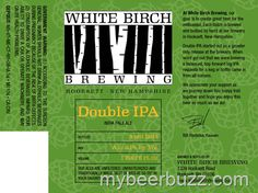 mybeerbuzz.com - Bringing Good Beers & Good People Together...: White Birch - Double IPA