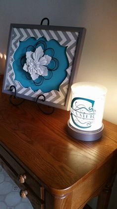 ***Use coupon code PIN10 for 10% off!***Personalized Monogram Decal for Scentsy Charmer Warmer by Impressivecreation on Etsy