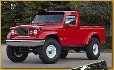 New Jeep Truck Concepts J-12 and Mighty FC Jeep