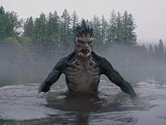 Tchimose - Found in fast flowing rivers and deep lakes across North America, these spiky-headed aquatic humanoids are covered in dark green scales, but are also capable of shapeshifting to assume human form. They have spines on their heads and necks which were sometimes mistaken for hats in folklore, and are often known to break or tip over the canoes of Native Americans.