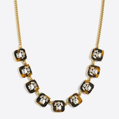 Tortoise crystal necklace (actually$19.95)  10/10