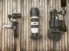 How many cameras do you take on your shoots? DJI Osmo Sony A7RII and Sony FS700 | Photo by @jan_erdl