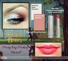 To create this look #MARYKAY Disney sleeping beauty