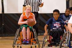https://flic.kr/p/21hu6Jm | Jr. Pacers Wheelchair Basketball Home Tournament @ Mary Free Bed YMCA - Nov 4, 2017