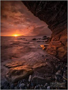 Elgol at Sunset, Isle of Skye in Scotland.
