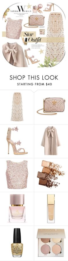 """Stars."" by zeljkaa ❤ liked on Polyvore featuring Boohoo, STELLA McCARTNEY, Giuseppe Zanotti, Maybelline, Amica, Burberry, OPI, Urban Outfitters and StarOutfits"