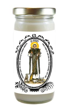 Saint Martin de Porres Patron of Animal by TouchedByTheSaints