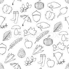 doodles autumn - Google Search