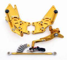 Mad Hornets - Rear Set Honda CBR600RR CBR 600 RR (2007-2014) Gold, $199.99 (http://www.madhornets.com/rear-set-honda-cbr600rr-cbr-600-rr-2007-2014-gold/)