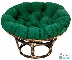 Pampasan Chair ivory papasan chair cushion - boho floral - polyester - home decor