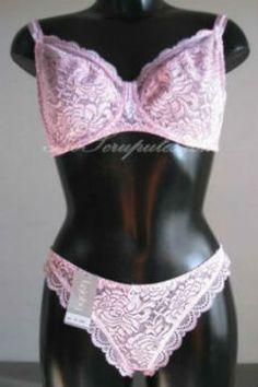 Ensemble 85F Lejaby à armature - rose http://www.noscrupules.com/achat-ensemble-85-dentelle-rose-388689.html