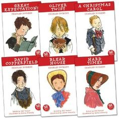 Real Reads: Charles Dickens Pack, 6 books, RRP £29.94 (A Christmas Carol; Bleak House; David Copperfield; Great Expectations; Hard Times; Oliver Twist).